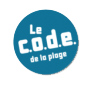 code plage logo